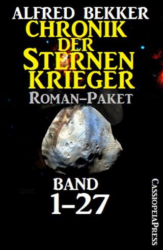 Alfred Bekker: Chronik der Sternenkrieger, Roman-Paket: Band 1-27 (Science Fiction Abenteuer)