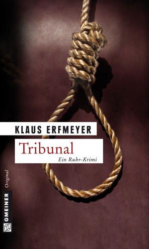 Klaus Erfmeyer: Tribunal