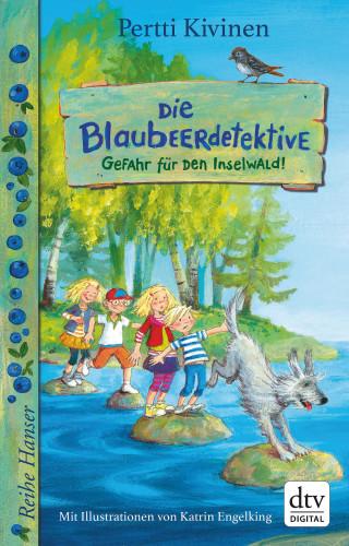 Pertti Kivinen: Die Blaubeerdetektive (1), Gefahr für den Inselwald!