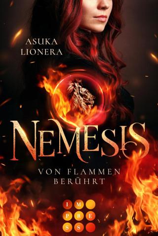 Asuka Lionera: Nemesis 1: Von Flammen berührt