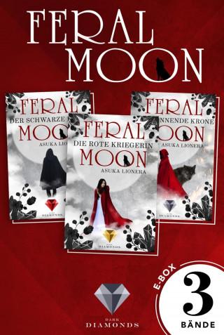 Asuka Lionera: Feral Moon: Alle Bände der Fantasy-Trilogie in einer E-Box!