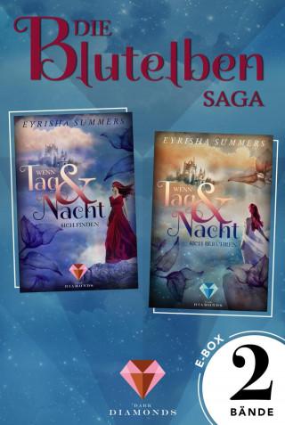 """Eyrisha Summers: Alle Bände der romantisch-fantastischen """"Blutelben"""" in einer E-Box (Die Blutelben-Saga)"""