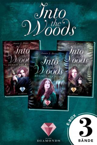 Annie J. Dean: Into the Woods: Alle 3 Bände der Reihe über die Magie der Wälder in einer E-Box!