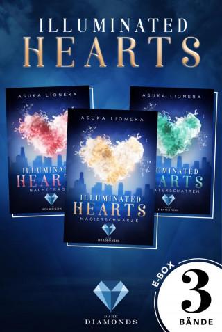 Asuka Lionera: Illuminated Hearts: Alle 3 Bände der Reihe über die Magie der Herzen in einer E-Box!