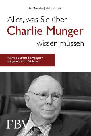 Rolf Morrien, Heinz Vinkelau: Alles, was Sie über Charlie Munger wissen müssen