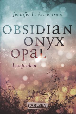 Jennifer L. Armentrout: Obsidian: Obsidian. Onyx. Opal. Leseproben