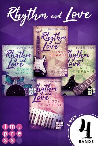 Sophie Fawn: Rhythm and Love: Alle Bände der berührenden Rockstar-Romance in einer E-Box!