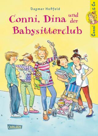Dagmar Hoßfeld: Conni & Co 12: Conni, Dina und der Babysitterclub