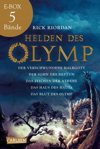 Rick Riordan: Helden des Olymp: Band 1-5 der spannenden Abenteuer-Serie in einer E-Box!