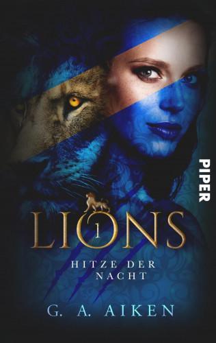 G. A. Aiken: Lions - Hitze der Nacht
