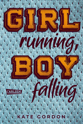 Kate Gordon: Girl running, Boy falling