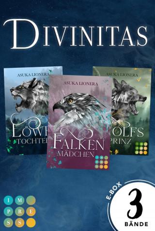"""Asuka Lionera: """"Divinitas""""-Sammelband der königlichen Gestaltwandler-Fantasy (Divinitas)"""