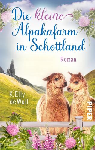 K. Elly de Wulf: Blue Skye - Die kleine Alpakafarm in Schottland