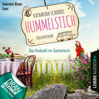 Katharina Schendel: Das Krokodil im Gartenteich - Provinzkrimi - Hummelstich, Folge 4 (Ungekürzt)