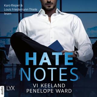 Vi Keeland, Penelope Ward: Hate Notes (Ungekürzt)