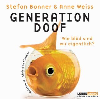Bonner: Generation doof