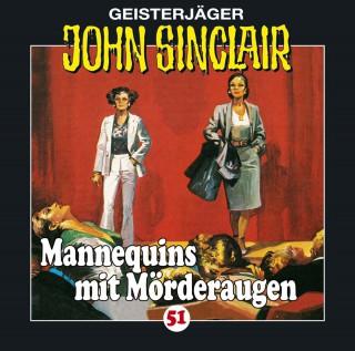 Jason Dark: John Sinclair, Folge 51: Mannequins mit Mörderaugen