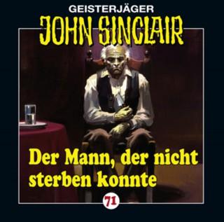 Jason Dark: John Sinclair, Folge 71: Der Mann, der nicht sterben konnte