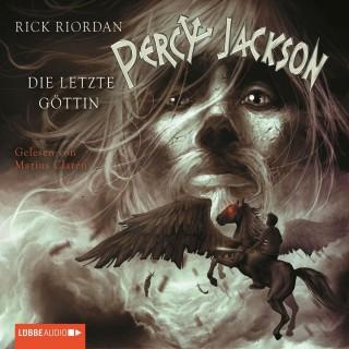 Rick Riordan: Percy Jackson, Teil 5: Die letzte Göttin