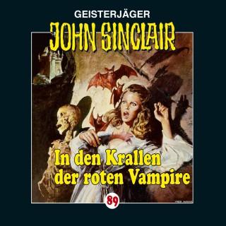 Jason Dark: John Sinclair, Folge 89: In den Krallen der roten Vampire