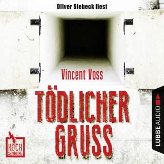 Vincent Voss: Hochspannung, Folge 1: Tödlicher Gruß