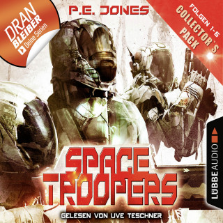 P. E. Jones: Space Troopers - Collector's Pack - Folgen 1-6