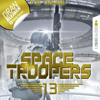 P. E. Jones: Space Troopers, Folge 13: Sturmfront