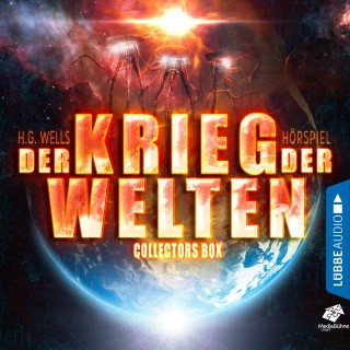 H.G. Wells: Der Krieg der Welten - Teil 1 bis 4 - Collectors Box (Gekürzt)
