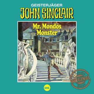 Jason Dark: John Sinclair, Tonstudio Braun, Folge 101: Mr. Mondos Monster. Teil 1 von 2