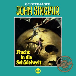 Jason Dark: John Sinclair, Tonstudio Braun, Folge 105: Flucht in die Schädelwelt