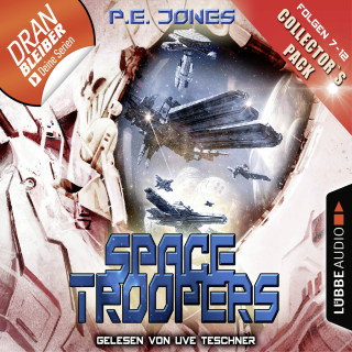 P. E. Jones: Space Troopers - Collector's Pack - Folgen 7-12 (Ungekürzt)