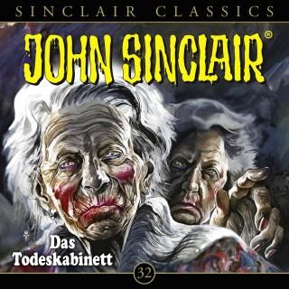 Jason Dark: John Sinclair, Classics, Folge 32: Das Todeskabinett