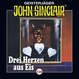 Jason Dark: John Sinclair, Folge 119: Drei Herzen aus Eis. Teil 1 von 4 (Gekürzt)