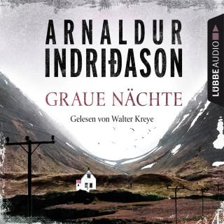 Arnaldur Indriðason: Graue Nächte - Island-Krimi - Flovent-Thorson-Krimis 2 (Gekürzt)
