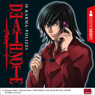 Tsugumi Ohba: Death Note, Folge 10: Karma-Polizei (Hörspiel)