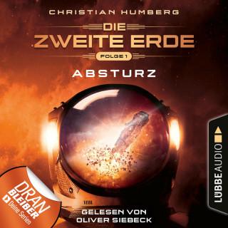 Christian Humberg: Mission Genesis - Die zweite Erde, Folge 1: Absturz (Ungekürzt)