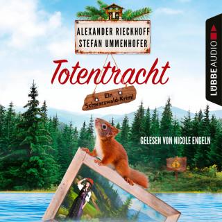 Alexander Rieckhoff, Stefan Ummenhofer: Totentracht - Schwarzwald-Krimi 1 (Gekürzt)