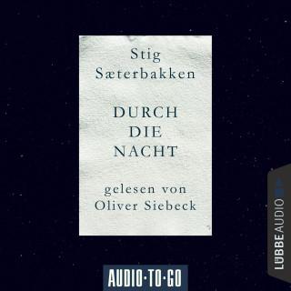 Stig Saeterbakken: Durch die Nacht (Ungekürzt)