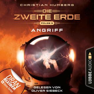 Christian Humberg: Mission Genesis - Die zweite Erde, Folge 5: Angriff (Ungekürzt)