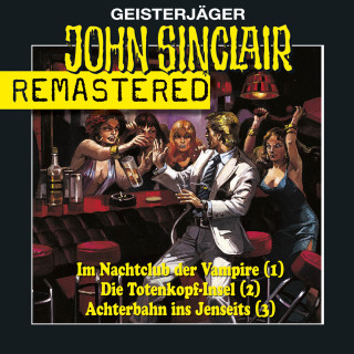 Jason Dark: John Sinclair - Sammlerbox 1, Folgen 1-3: Nachtclub/Totenkopf-Insel/Achterbahn