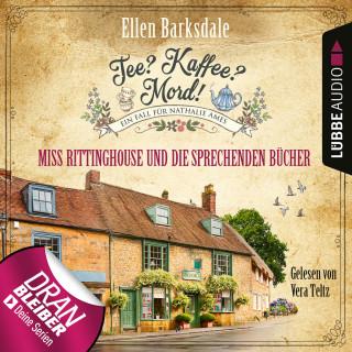Ellen Barksdale: Nathalie Ames ermittelt - Tee? Kaffee? Mord!, Folge 13: Miss Rittinghouse und die sprechenden Bücher (Ungekürzt)