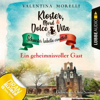 Valentina Morelli: Ein geheimnisvoller Gast - Kloster, Mord und Dolce Vita - Schwester Isabella ermittelt, Folge 3 (Ungekürzt)