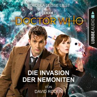 David Roden: Doctor Who - Die Invasion der Nemoniten (Ungekürzt)