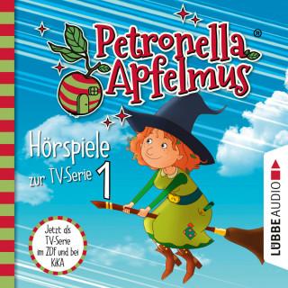 Cornelia Neudert: Petronella Apfelmus, Teil 1: Der Oberhexenbesen, Papa ist geschrumpft, Verwichtelte Freundschaft