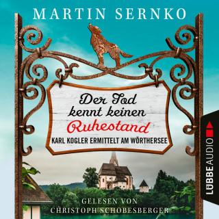 Martin Sernko: Der Tod kennt keinen Ruhestand - Karl Kogler ermittelt am Wörthersee - Ein-Karl-Kogler-Krimi, Teil 1 (Ungekürzt)