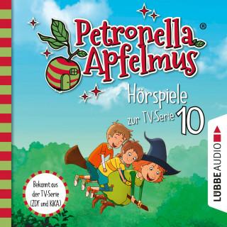 Sabine Städing: Petronella Apfelmus, Teil 10: Die verflogene Einladung, Der große Fund, Die Zauberäpfel (Ungekürzt)