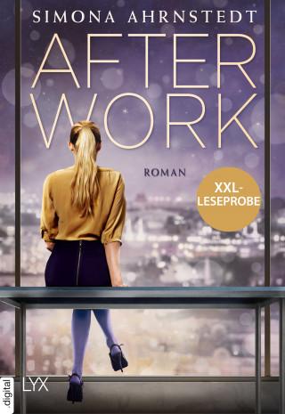 Simona Ahrnstedt: XXL-Leseprobe: After Work
