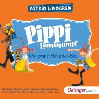 Astrid Lindgren: Pippi Langstrumpf. Die große Hörspielbox