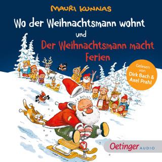 Mauri Kunnas: Wo der Weihnachtsmann wohnt und Der Weihnachtsmann macht Ferien