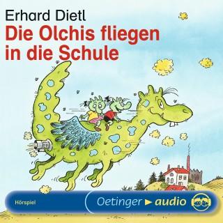 Erhard Dietl: Die Olchis fliegen in die Schule